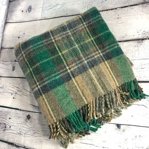 Paid Wool Throw Blanket From UK